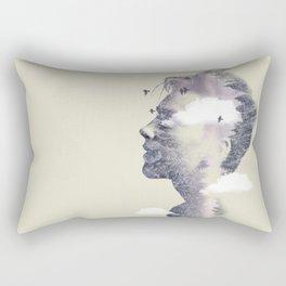 Nature on my mind Rectangular Pillow