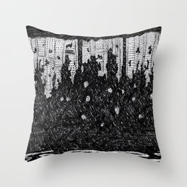 Things Fall Apart Throw Pillow