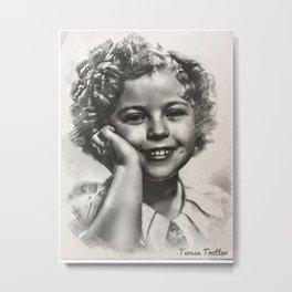 Shirley Temple Metal Print