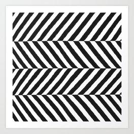 Stripe Graffika  Art Print