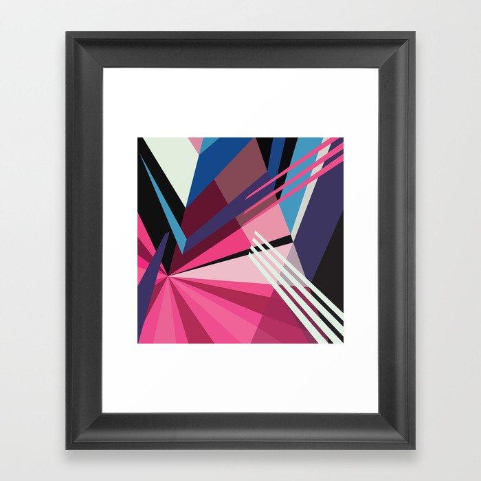 Amazing Runner No. 5 Framed Art Print