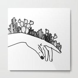 Succi Finger Metal Print
