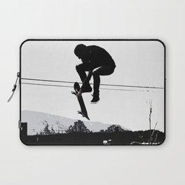 Flying High Skateboarder Laptop Sleeve