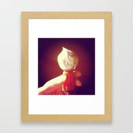 Shaving Brush Lather  Framed Art Print