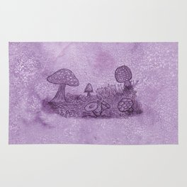 Fungi Meadow Rug