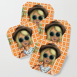 You Should Smile More (Jess) Coaster