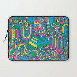 Trippy Pattern Laptop Sleeve
