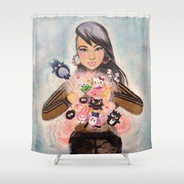 Inner Child Superstar Shower Curtain