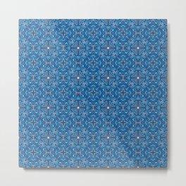 Swirls Pattern Metal Print