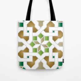 Oriental Pattern - Geometric Design Pt. 8 Tote Bag
