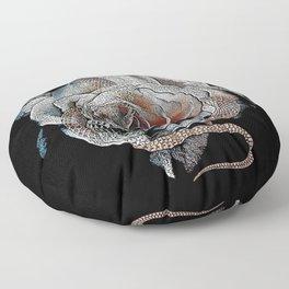 Beautiful Death Floor Pillow