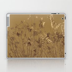Thin Branches Sepia Laptop & iPad Skin
