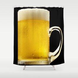 Foamy Beer Mug Shower Curtain