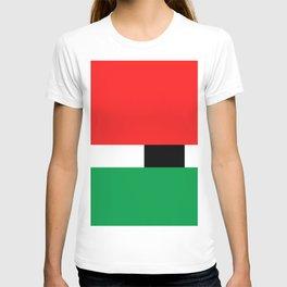 Xmas Color Santa Claus Colour3 T-shirt