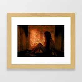 Arrival - Windowseat Framed Art Print