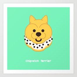 Chipwich Terrier Art Print