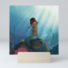 A Little mermaid Mini Art Print