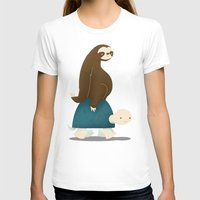 sloths T-shirts featuring Slow Ride by Jay Fleck