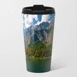 Outdoors, Church, Alps Mountains, Koenigssee Lake on #Society6 Travel Mug