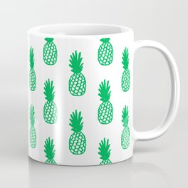 Green Pineapple Coffee Mug