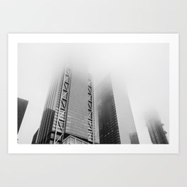 Lost in the Mists -2 New York 2018 Art Print