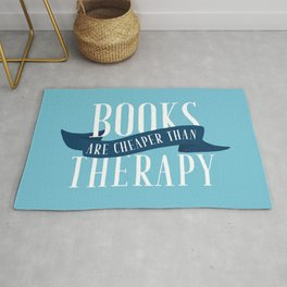Books Therapy - Blue Rug
