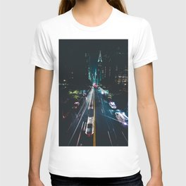 New York City Night Life (Color) T-shirt