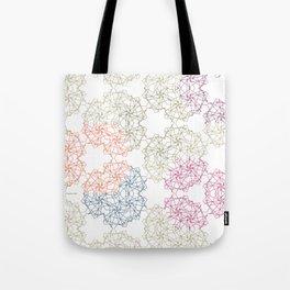 FlowerNet Tote Bag