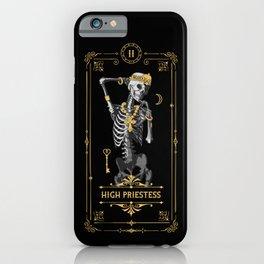 High Priestess II Tarot Card iPhone Case