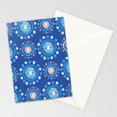 Bubbly Pattern Stationery Cards