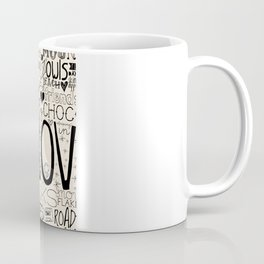 50 Reasons To Be Happy Coffee Mug