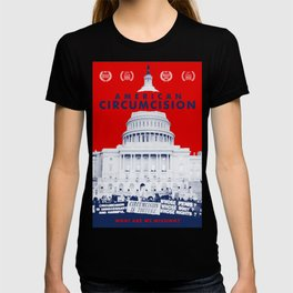 American Circumcision Official Movie Poster T-shirt