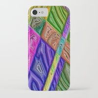 agate iPhone & iPod Cases featuring Agate by RingWaveArt