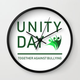 Cool & Awesome Unity Tshirt Design Unity Day Wall Clock