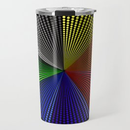 Octagon Infinity Dots - Rainbow Travel Mug