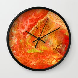 The Ant on Fire Wall Clock