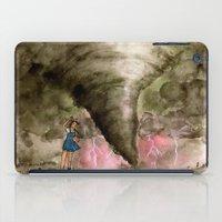 kansas iPad Cases featuring Leaving Kansas by Jen Hallbrown