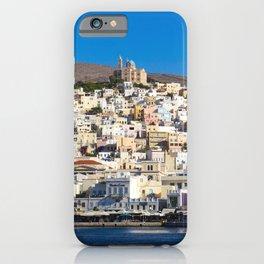 Syros Island iPhone Case