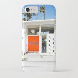 Mid Century Orange iPhone Case
