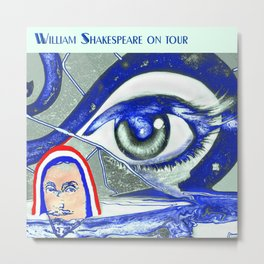 """Willshakespeare"" Metal Print"