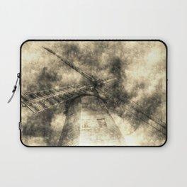 Upminster windmill Essex Vintage Laptop Sleeve
