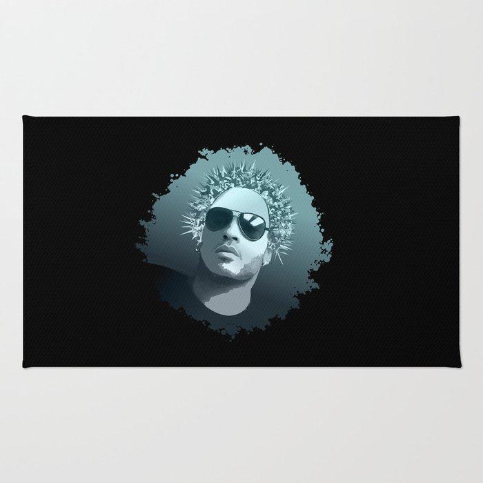 Tribute to Lenny Kravitz Rug