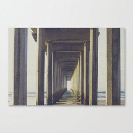 il pier di scripps  Canvas Print