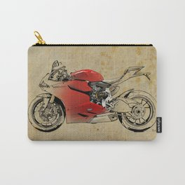 Ducati 1199 Panigale - Original drawing | gift for men and bikers Carry-All Pouch