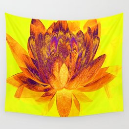 Early morning Lotus.... Wall Tapestry