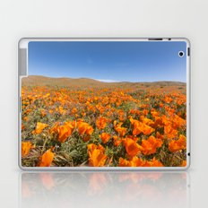 Blooming poppies in Antelope Valley Poppy Reserve Laptop & iPad Skin