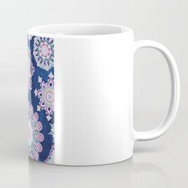 Folky SnowFlowers Coffee Mug