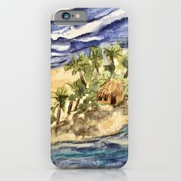 Far From the Crowd iPhone Case