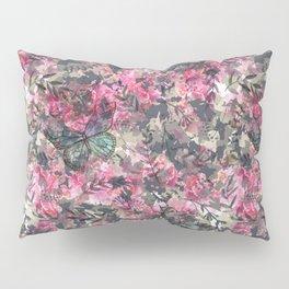Butterfly in the Garden Pillow Sham