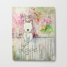 Westie Love ~ West Highland Terrier Metal Print